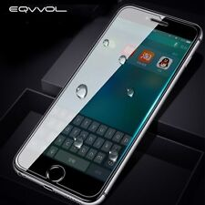 Eqvvol Tempered Glass Screen Protector For Iphone X 8 7 6S Plus 5C 5S Se 4S Film