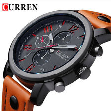 New Curren Luxury Casual Men Watches Analog Military Sports Watch Quartz Male Wr