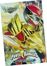 Power Rangers Legends Unite Action Card Game Single Cards Series 4 Bandai