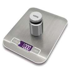 Electronic Kitchen Scale Cooking Measure Tools Digital Stainless Steel Weighing