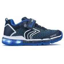 ZAPATILLAS GEOX LUCES J ANDROID  NAVY