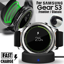 Wireless Charging Charger Cradle Dock for Samsung Gear S2 S3 Classic Smartwatch