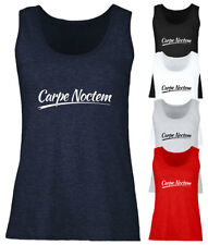 Ladies Carpe Noctem Vest Womens Sleeveless Tee Top