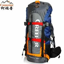CREEPER Camping Hiking Backpack Mountaineering Bag 60L Traveling Bag
