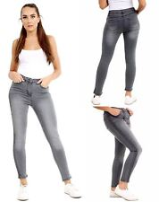 Ladies Skinny Womens Jeans Stretchy Jeggings New Fit Colored TROUSERS Size 8-26