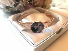 PERSONALISED PHOTO CHARM Bangle - any photo/image Ideal gift/present for Wife
