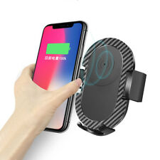 FDGAO Qi Wireless Fast Car Charger Air Vent Mount Holder For Samsung S9 S8 Note8