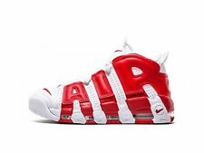 Nike Air More Uptempo Wmns Bianco Rosso White Red University Shoes 414962 100