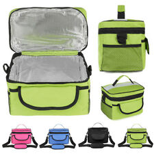 28x17x18cm Oxford Lunch Tote Cooler Backpack Insulated Picnic Bag for Camping