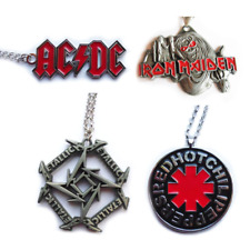 AC DC / Iron Maiden / Metallica  / RHCP Red Hot Chili Peppers pendant / Anhänger