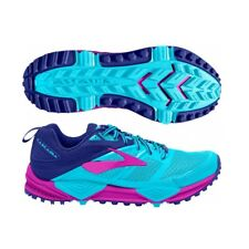 Brooks Cascadia 12 Womens Trail Running Shoes, Blue/Purple