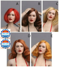 "1/6 Sexy Lady Head Sculpt GC017 For 12"" Female Figure Phicen Kumik Hot Toys❶USA❶"