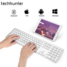 Wireless Bluetooth Keyboard Ultra Slim for Apple iOS Android Windows Notebook