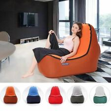Indoor & Outdoor Hangout Inflatable Air Lounge Sofa Chair Living Room Bean Bag L
