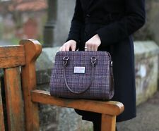 Ladies Authentic Harris Tweed Midi Tote Findhorn Bag Available in Various Colour