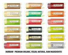 Hurraw! Premium Organic Vegan Raw Lip Balm - All Flavours