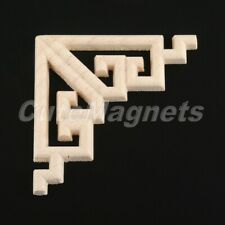 Exquisite Wood Applique Bed Wall Cabinet Decor Home Onlay Carved Corner Decal