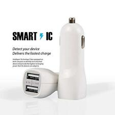 3.1A Dual USB 2 Port Car Charger Universal Charging For Samsung iPhone Sony LG