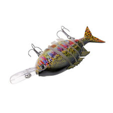 102mm Esca da Pesca Multi Snodato Richiami Artificiali Swimbait Plastica