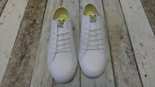 Mens Lyle & Scott Teviot Twill Trainers white size 6/EU39 (4089324 loc W7)