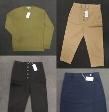 COS ROUND-NECK JUMPER / Patch Pocket Wrap Skirt / Buttoned Drop-crotch Trousers