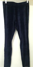 NEW Boden G0191 Girls Velvet Leggings, Navy