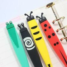 Gel Pen Creative Animal Shapes Design Silica Gel Material School Student Station
