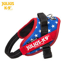 Julius K9 IDC Powerharness Dog Harness USA Flag Red-White-Blue NEW