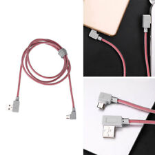 Right Angle 90 Degree Micro 5Pin USB Extension Data Sync Charging Cable Line