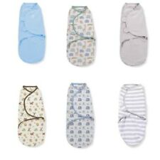 Summer Infant swaddleme- Azul/ Safari/ Raya / Elefante/Estrellas