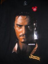 DISNEY PIRATAS DEL CARIBE Camisa en world's End ORLANDO BLOOM - WILL NUEVO L