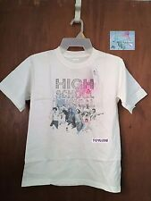Disney Store High School Musical Camisa Top Nuevo Juventud HSM Troy Gabriella