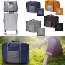 Waterproof Foldable Travel Shopping Bag Pouch Clothes Storage Canvas bags D23D