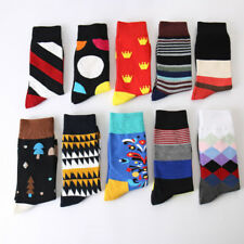 Autumn And Winter New Personality Creative Graffiti Men Socks High Quality Cotto