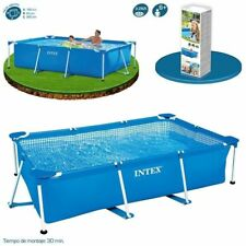 Piscina Rectangular Intex 28271 260x160x65cm Desmontable Small Frame Lona 2282 L