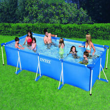 Piscina Rectangular Intex 28273 450x220x85cm Desmontable Small Frame Lona 7127 L