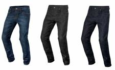 Alpinestars Motorcycle Motorbike Copper Jeans With Removable Hip Pad Protectors