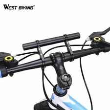Double Mountain Bike Handlebar Extender 25.4/31.8MM Expander Cycling Computer Mo
