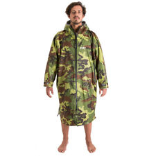 Dryrobe Advance - Long Sleeved - All Weather Changing Robe (Camo/Grey)