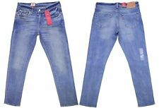 Genuine Levis 511 For Mens Riveted (Slim Straight) in Dennis Homme Blue Jeans