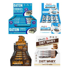 Protein Diet Bars Various Oatein PhD Smart Bar Carb Killa Low Carb Low Fat