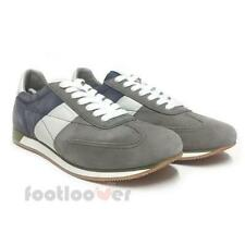 Scarpe Geox Vinto U722la 00022 c9a4r Casual Sneakers uomo Anthracite Dark Royal
