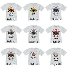 Personalised Children's T-Shirt - Crazy Critters - Styles 10-18  Sizes 1-14 yrs