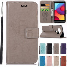 For LG X Power/Q6 Q8 /K8 2017/LV3 Leather Case Flip Wallet Magnetic Stand Cover