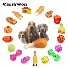 Pet Dog Chew Toys Anti Bite Squeaker Squeaky Plush Sound Cute Ball Vegetable Chi