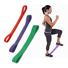 Yoga Bands Resistance Elastic Loop Exercise Workout Fitness Gym Training Sport