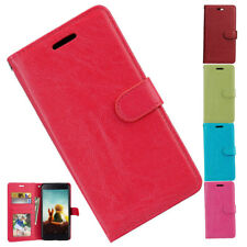 Magnetic Flip Leather Wallet Card Holder Stand Case Cover For Xiaomi Redmi 4 /4X