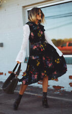 Erdem H&M Floral Pleated A Line Frill Dress With Bow UK 8 10 12 14 16 BNWT
