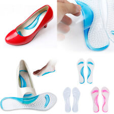 0117 Silicone Gel Foot Protector Cushion Feet Care Shoe Insert Pad Insole Foot