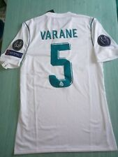 MAILLOT FOOT ADIZERO REAL MADRID FINALE LIGUE DES CHAMPIONS 18 VARANE 5 PATCHS